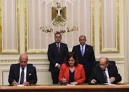 رئيس مجلس الوزراء المصري انطلاق القمر الصناعى المصري يحقق طموحات وأحلام الشعب المصري