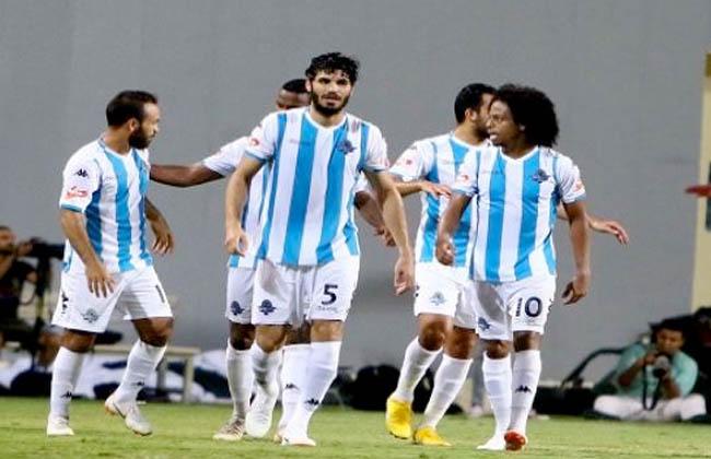 استعداد نادي بيراميدز لمباراة مصر المقاصة