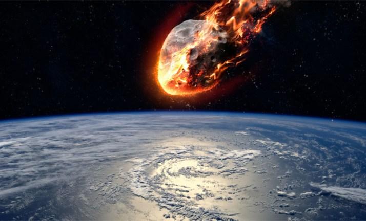 اصطدام كويكب كبير بكوكب الأرض في منتصف فبراير