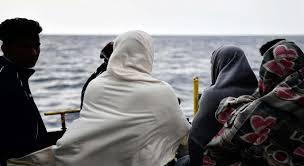 السوريين السجناء على شواطئ إيطاليا