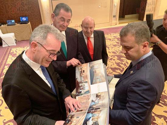 الصور الأولى لتوقيع إدارة فندق الماسة بالعاصمة الإدارية لشركة ماريوت العالمية