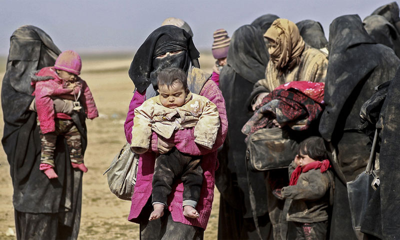 النازحون السوريون على مشارف الموت