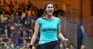 تأهل المصرية نور الشربيني لنهائي بطولة الإسكواش بأمريكا