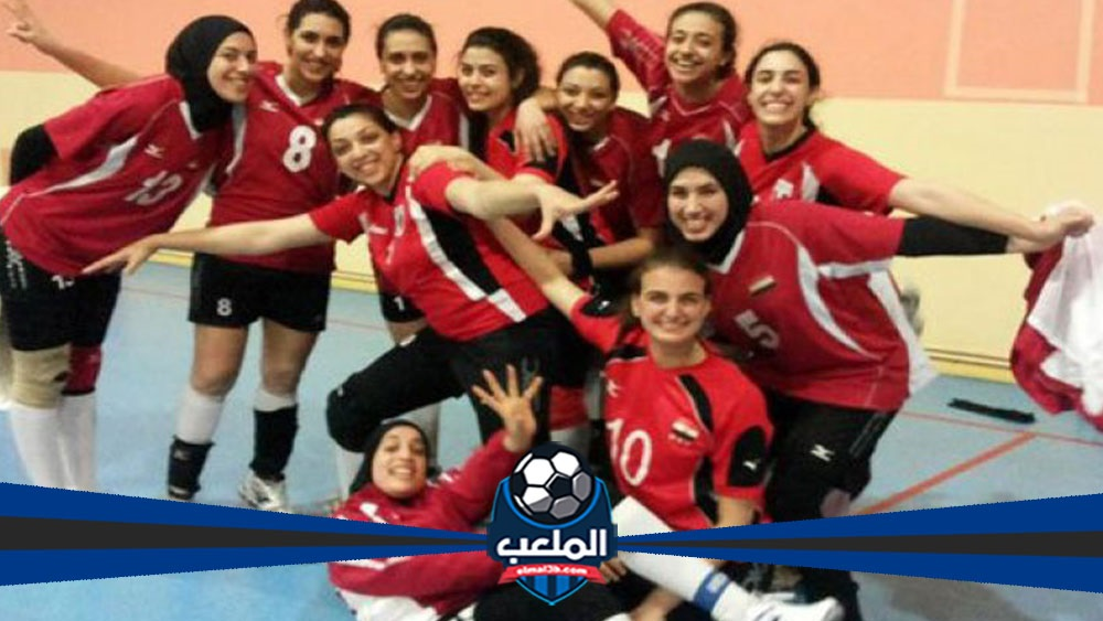 فريق كرة الطائرة المصرى يكتسح فريق الكاميرون فى التصفيات النهائية بثلاث أهداف