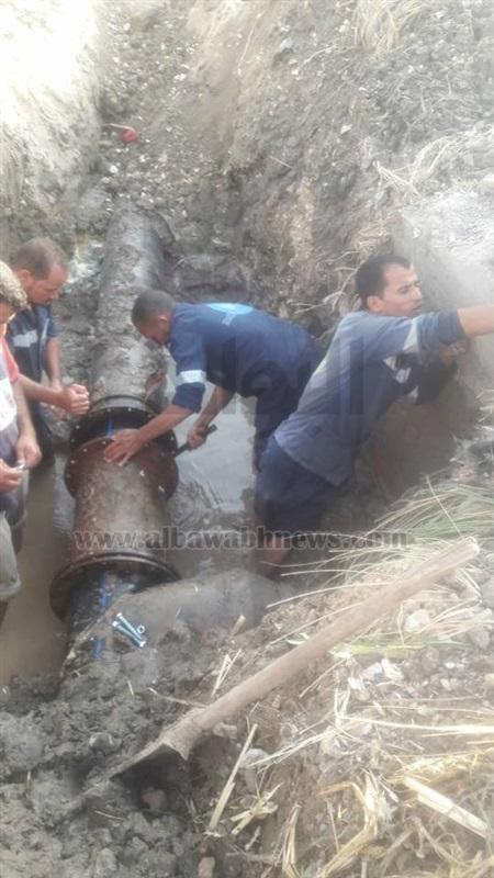 بسبب أعمال الصيانة يوم الجمعة المقبل إنقطاع المياه عن غرب منطقه الإسكندرية.