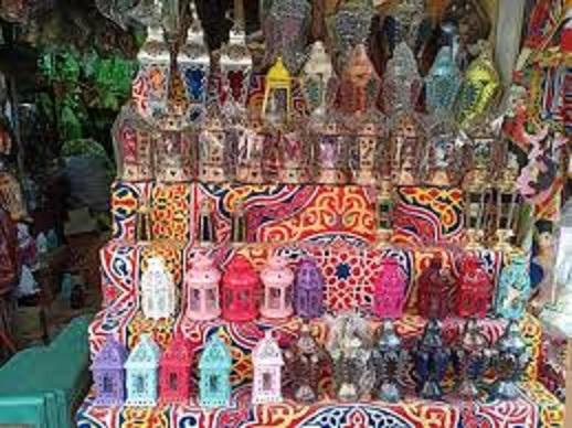 مع إقتراب شهر رمضان المبارك  فانوس رمضان ينزل الأسواق المصرية