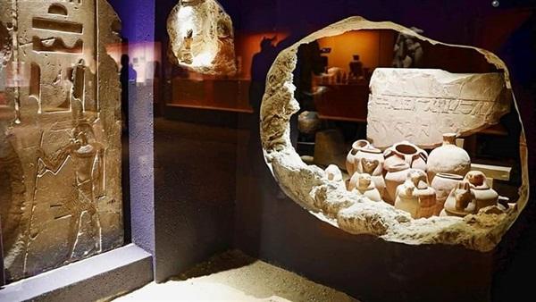 متحف شاطئي فى الغردقة