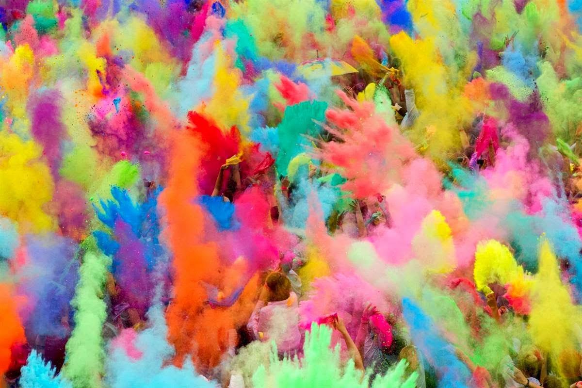 رؤية الألوان في الحلم والتفسير الخاص بها