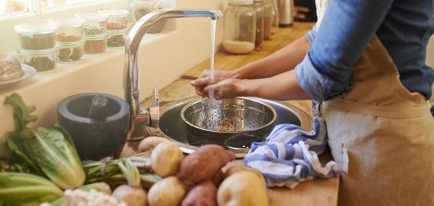 أطعمة مفيدة للصحة لايجب غسلها قبل الطهي
